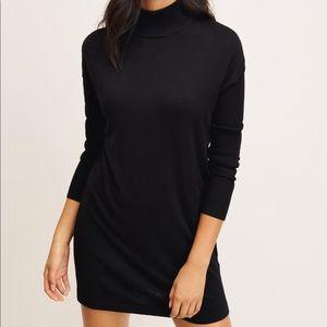 Dynamite Sweater Dress - Black